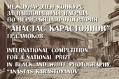 """Международен конкурс за Национална награда по черно-бяла фотография """"Анастас Карастоянов 2021"""""""