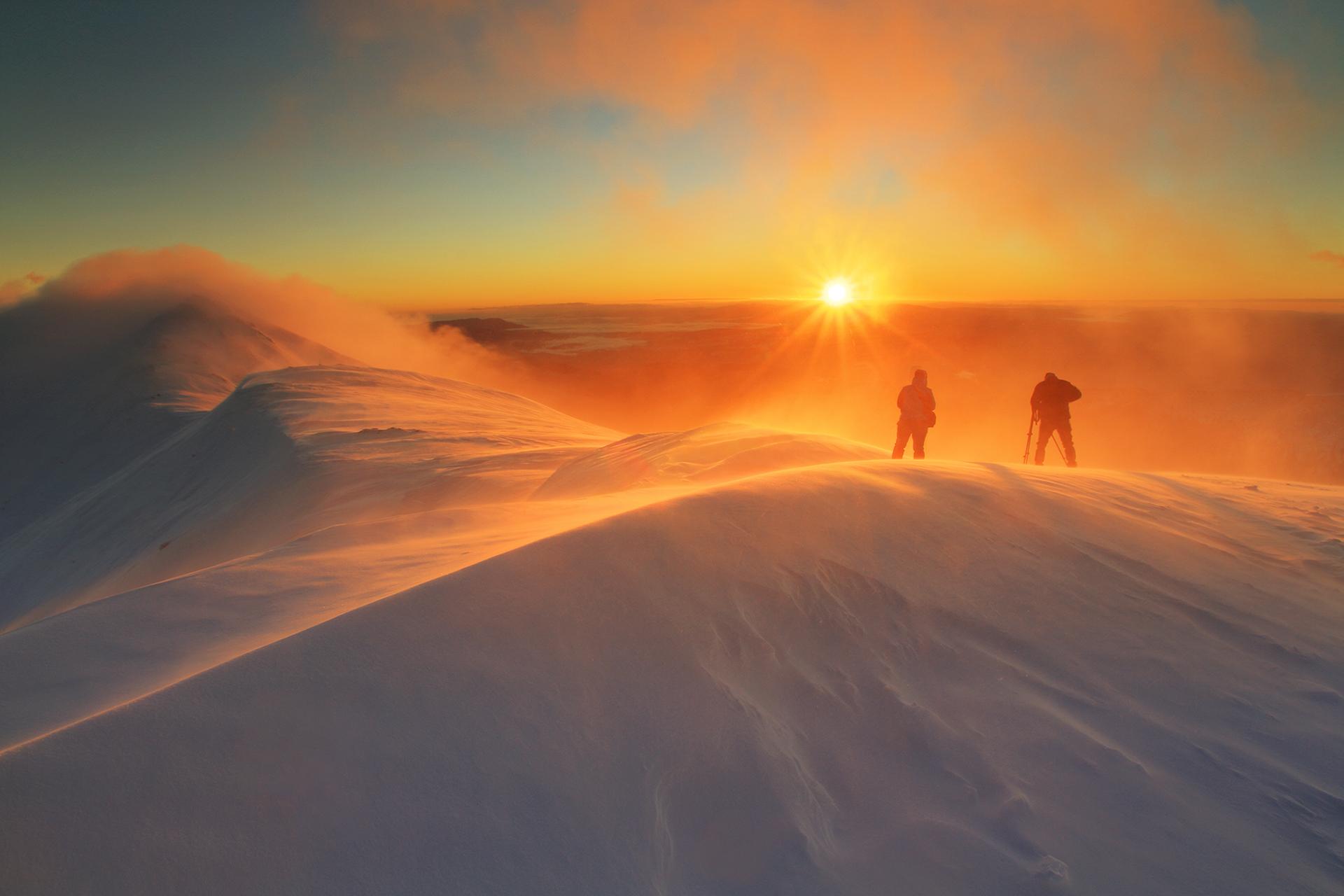 Едно лудо фотографско утро - изгрев от Голям Мечи връх, Рила от емилиян евдокимов - evdokimov_emo