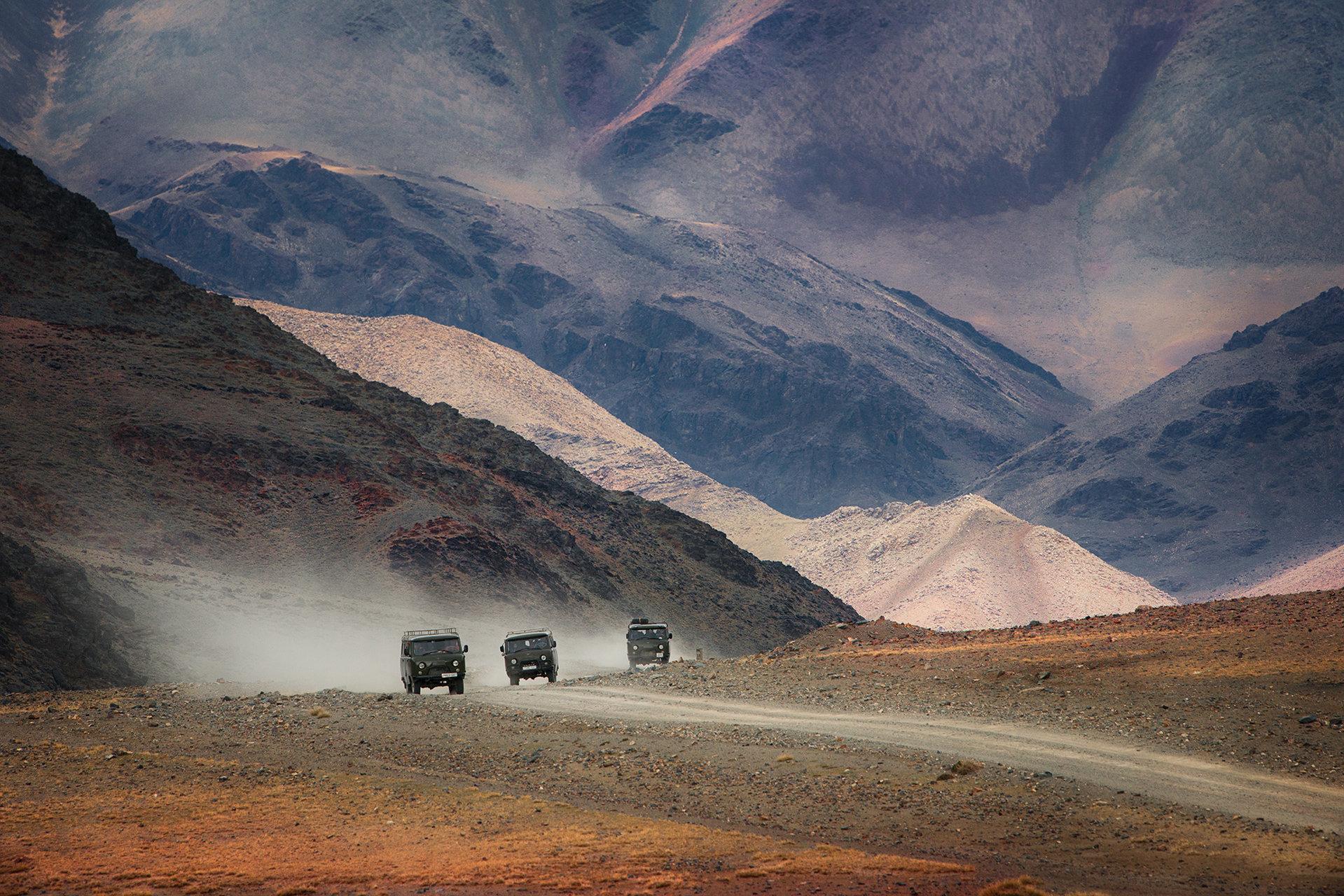 Трафик в Монголия от Krasi Matarov - Muzka