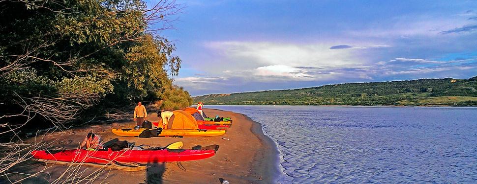 Приключение по дунавските острови с каяци - за Фотографи