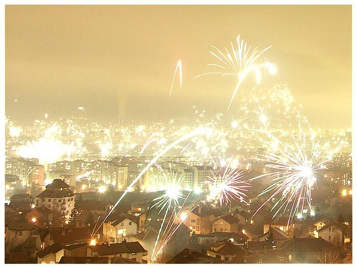 на връх нова година София изригна