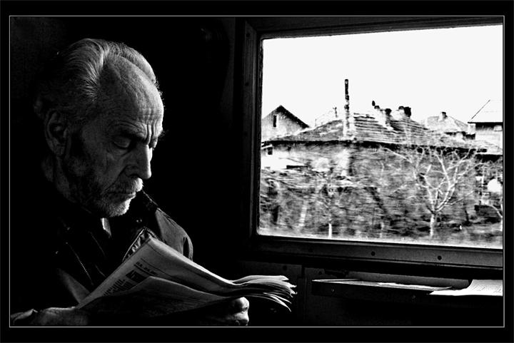 Portrait of One Passenger