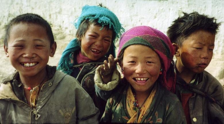 tibetan children | Author Oggy Karchev - Огнян | PHOTO FORUM