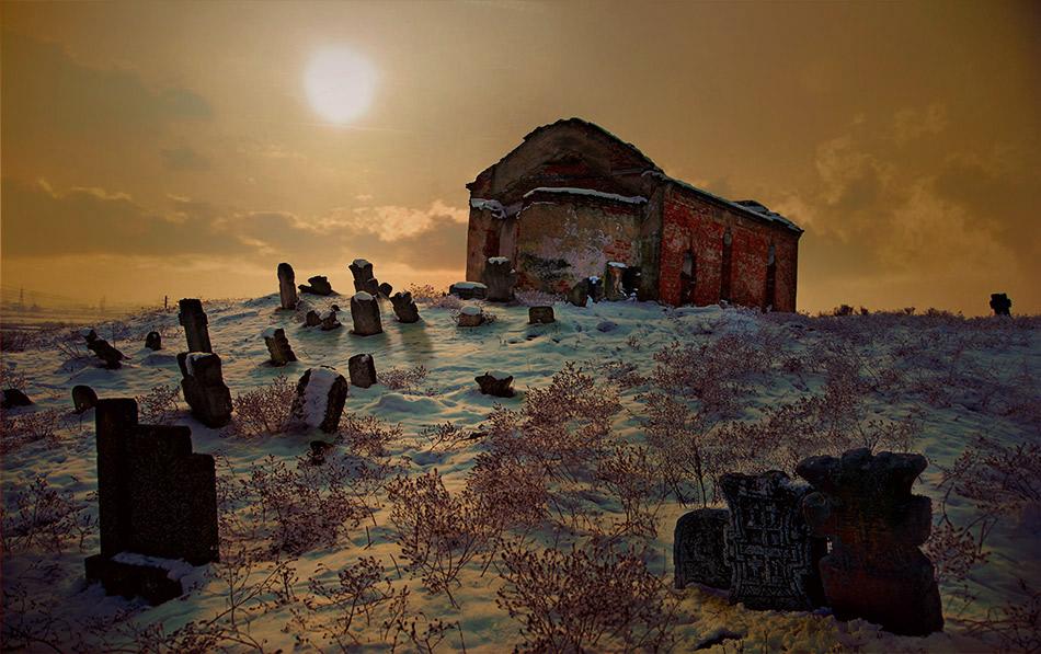 Изоставено циганско гробище и църква край гр. Лом   Author Kliment Radoev - flagellum_dei   PHOTO FORUM