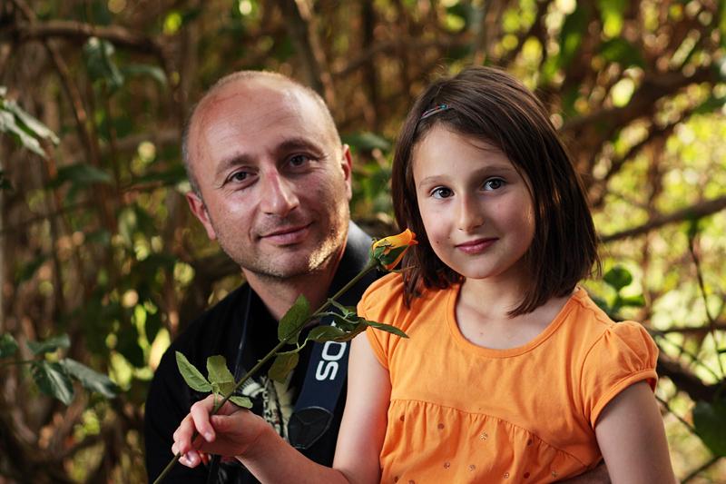 Баща и дъщеря   Author Ина Мартин - Goth_Angel   PHOTO FORUM