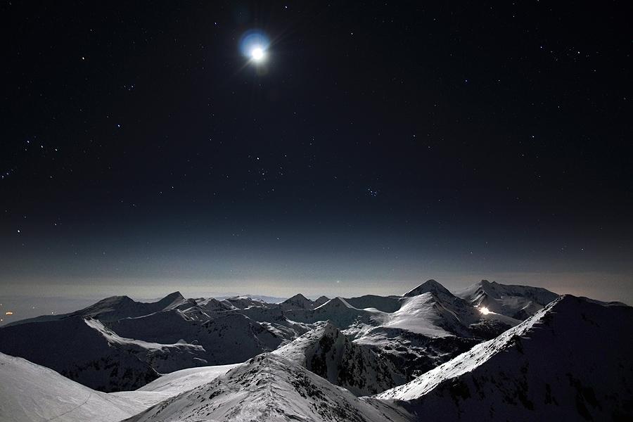 Нощ над Пирин