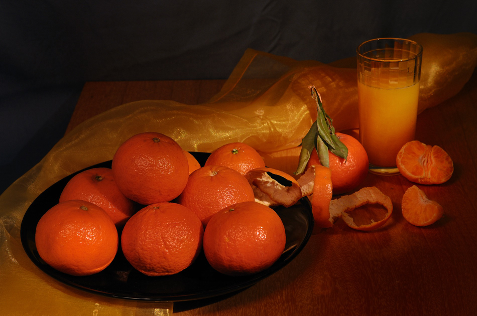 Натюрморт с мандарини | Author Nikoneff | PHOTO FORUM