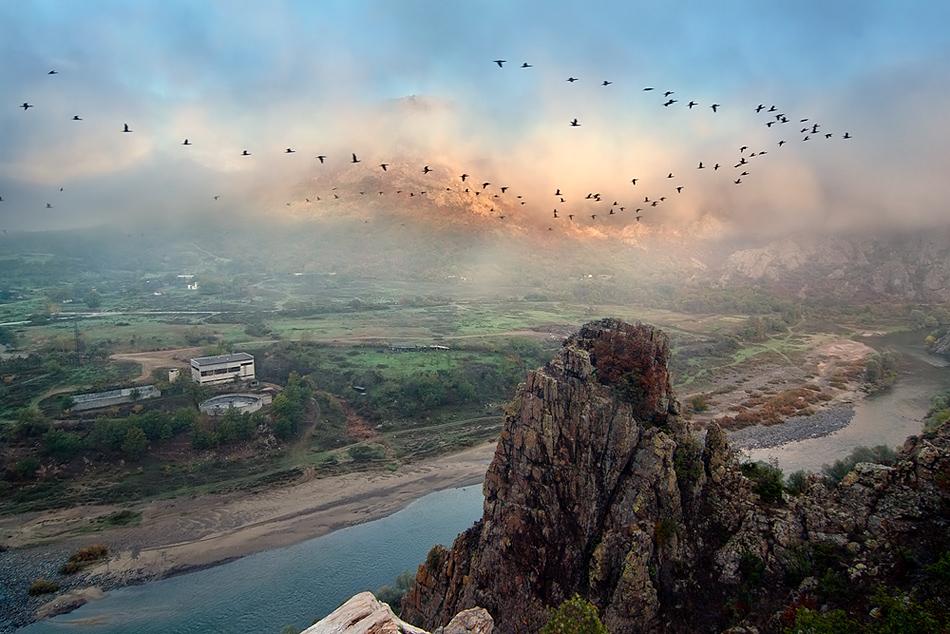 Мъгливи утрини   Author Тencho Atanasov - ttamjt   PHOTO FORUM