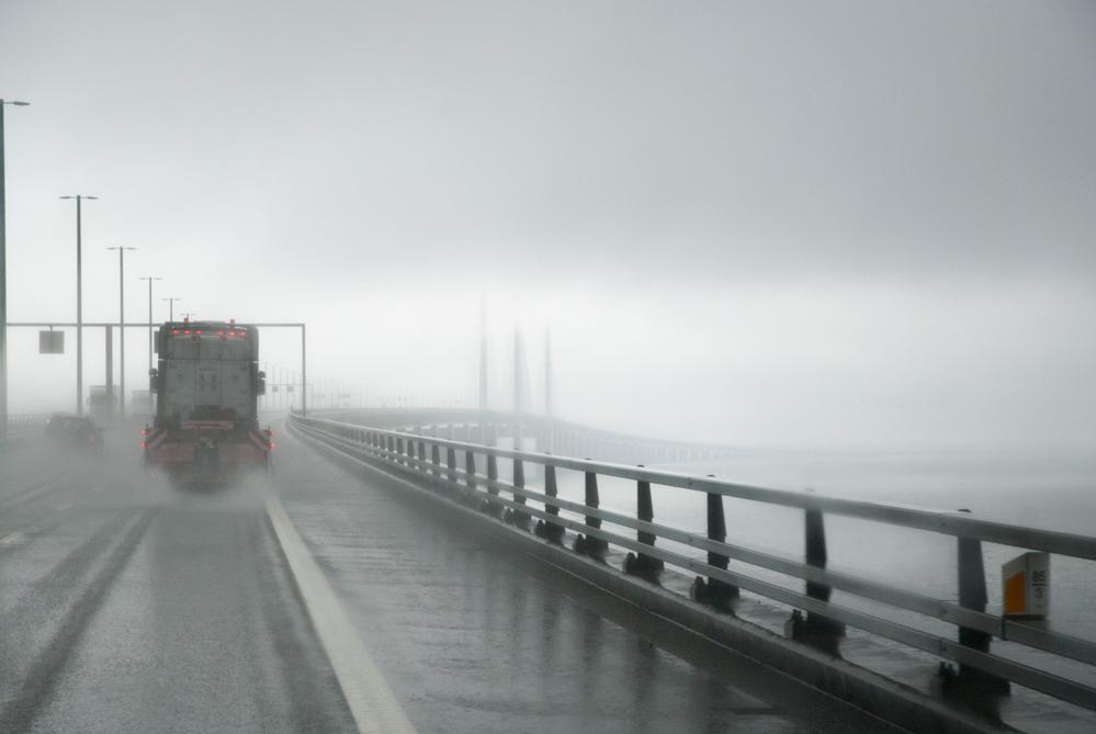 моста Йоресунд в буря | Author Tanya Anastasova - Passion1 | PHOTO FORUM