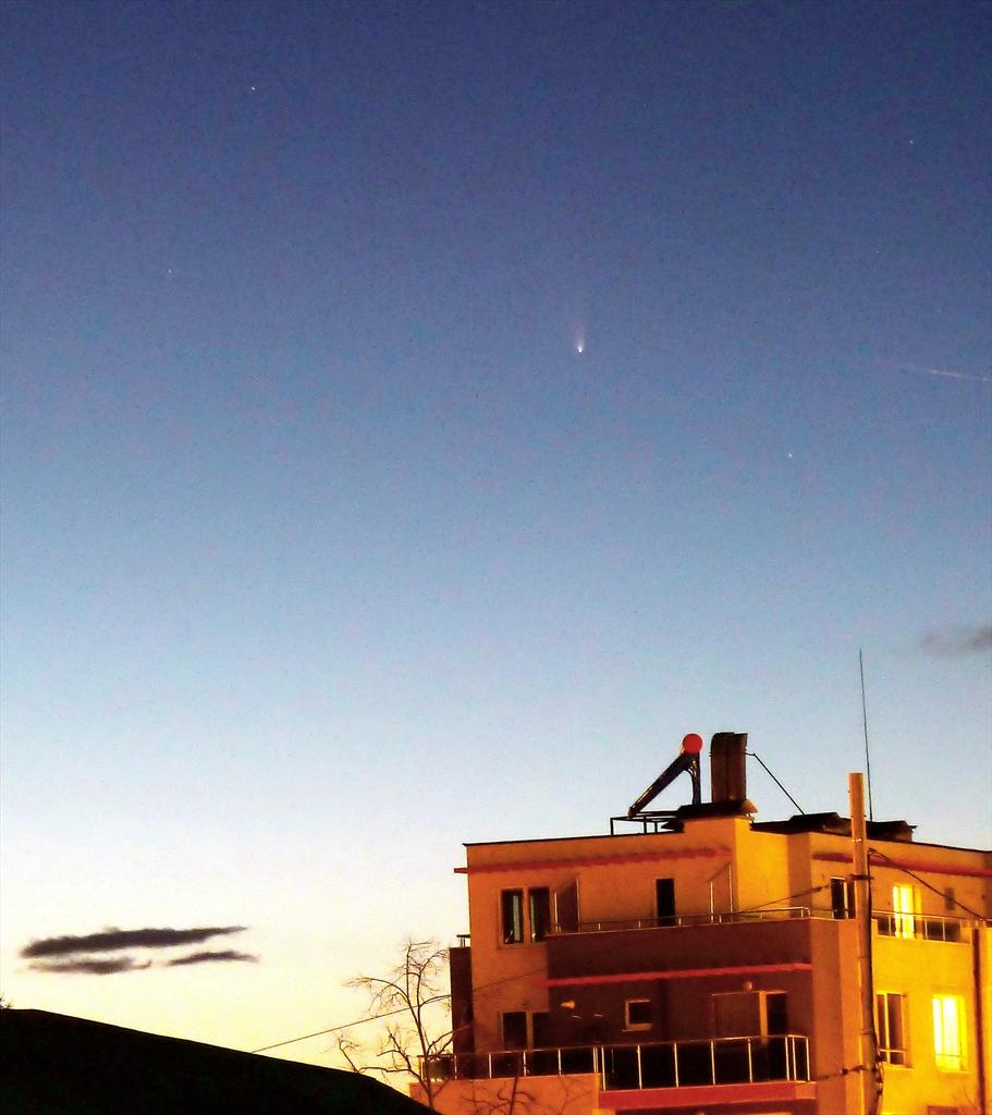 Как видях кометата C/2011 L4 Pan-Starrs на 19.03.2013г.   Author Dobnej   PHOTO FORUM