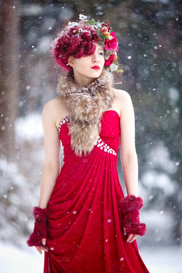 Снежен портрет!