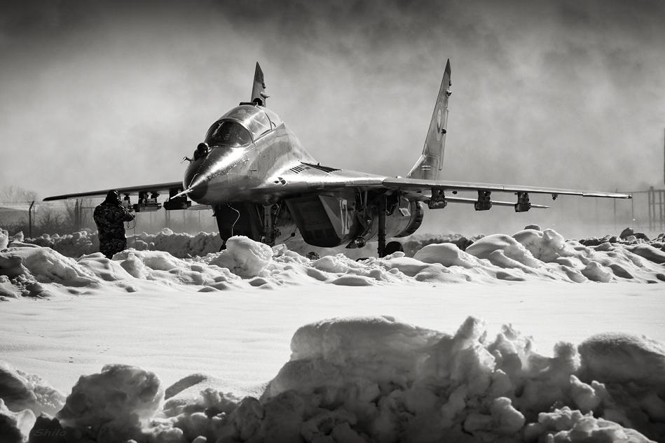 Български МиГ-29УБ