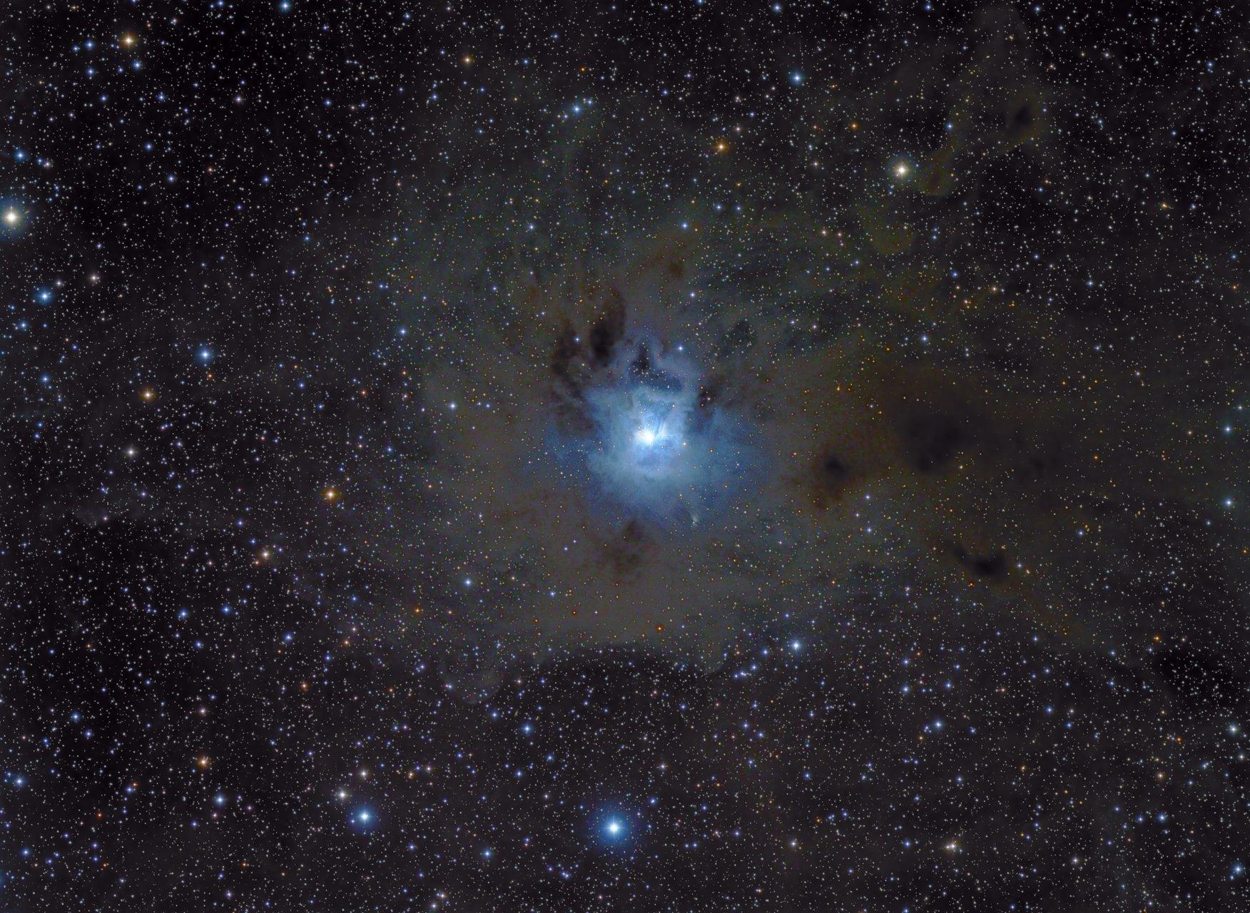 Мъглявината Ирис в съзвездие Цефей | Author Tony Gl - tonygl | PHOTO FORUM