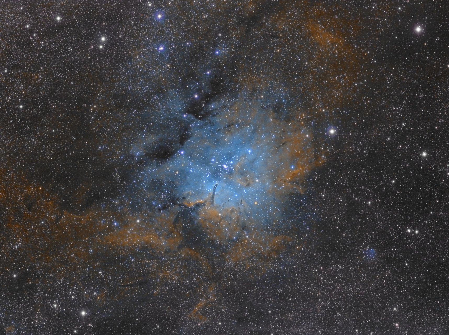 Мъглавината NGC6823 | Author Tony Gl - tonygl | PHOTO FORUM