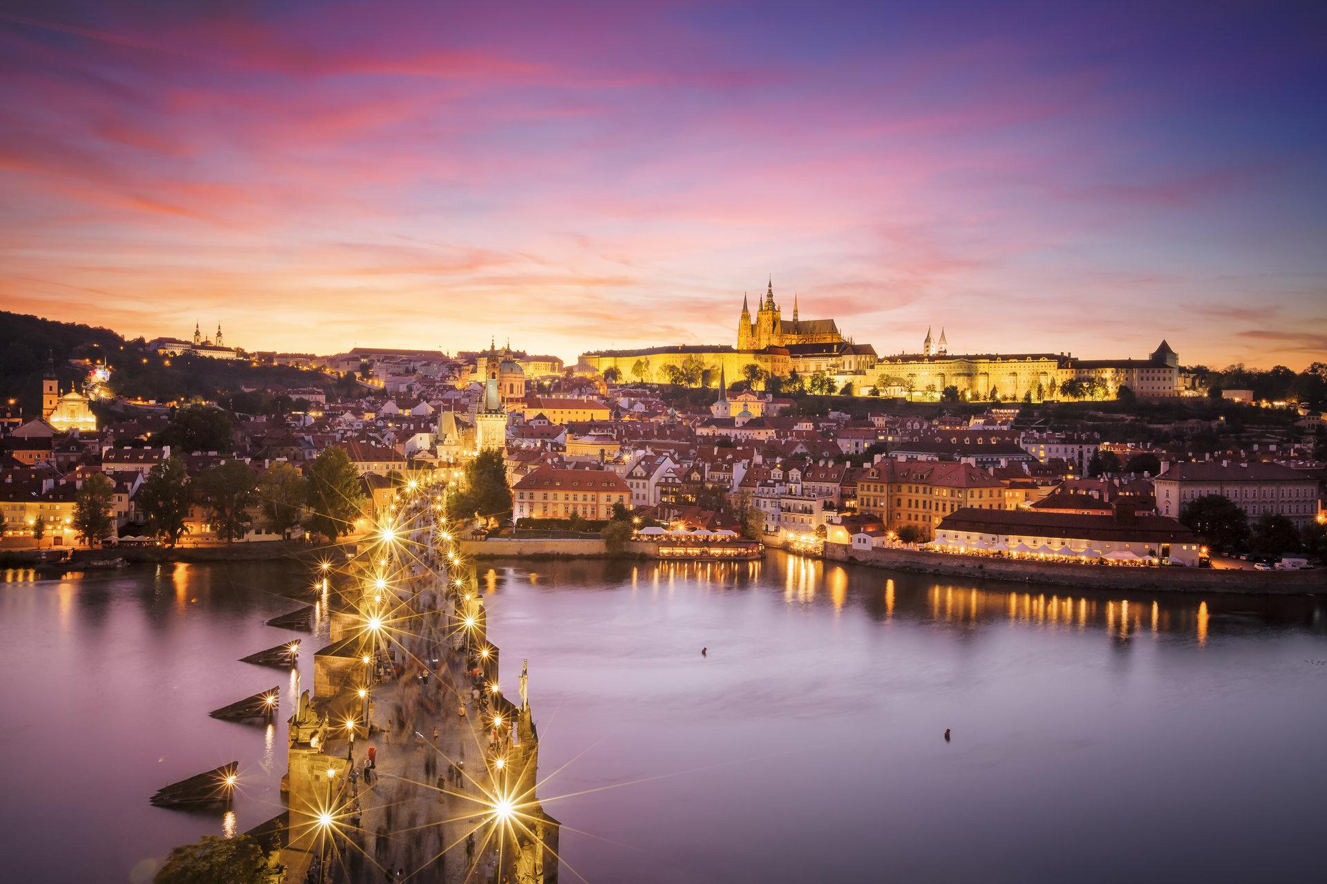 Залез над Прага | Author Albena Ivanova - benna23 | PHOTO FORUM