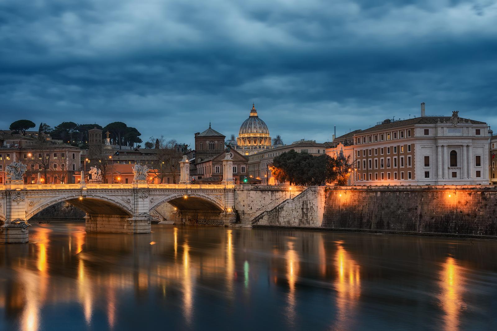 Синия час в Рим от Ernest Vahedi - v_ern