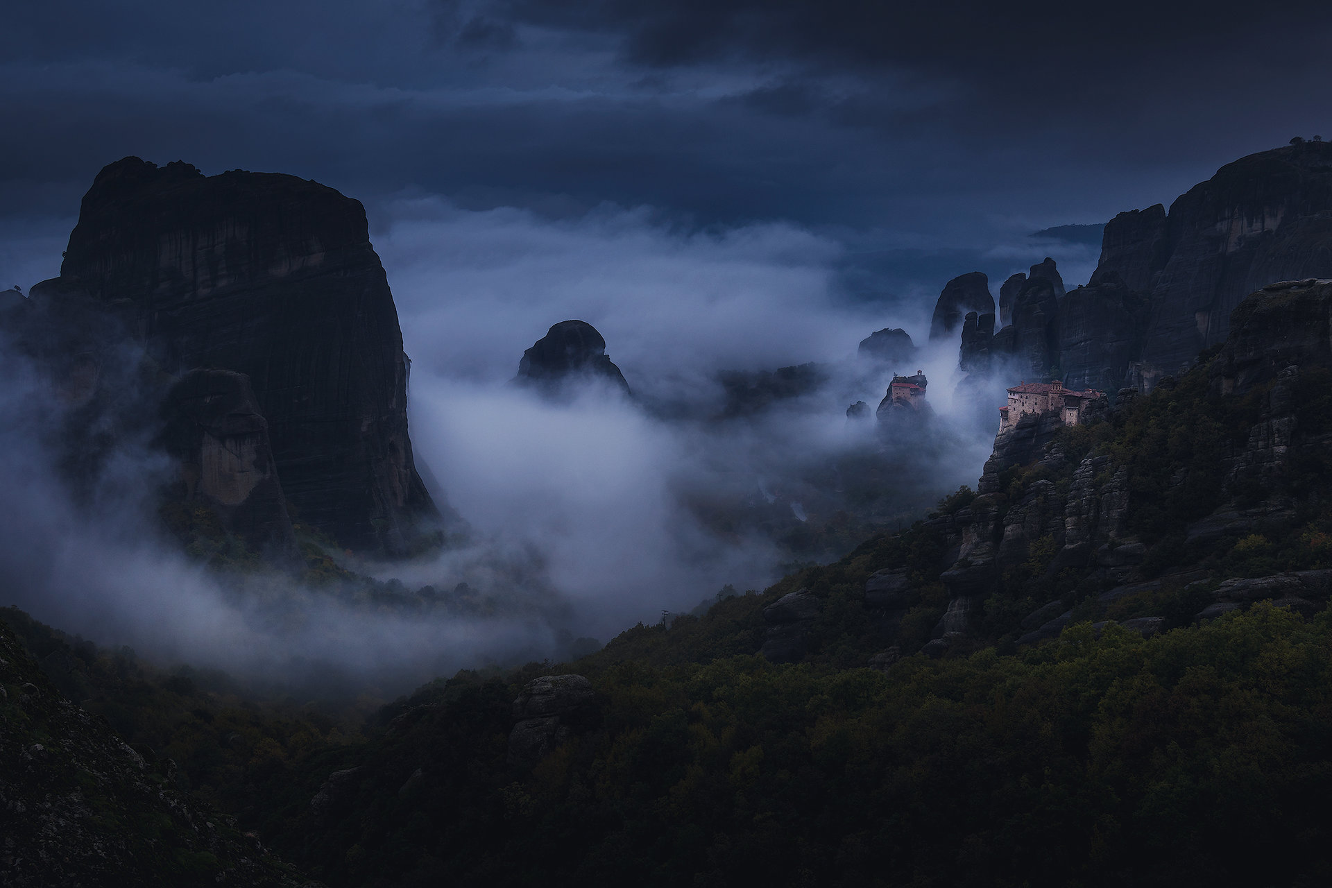 Meteora | Author wallburn | PHOTO FORUM