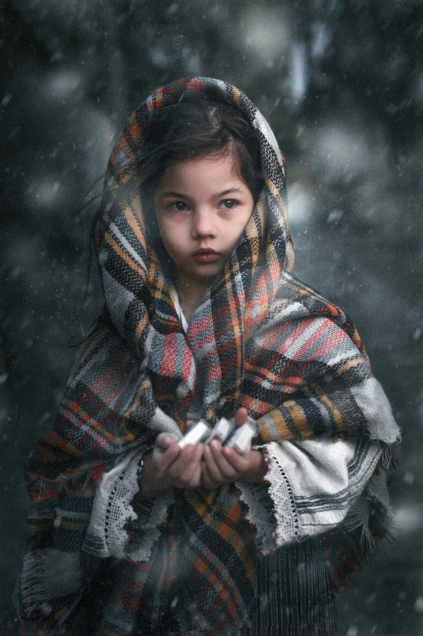 Беше люта зима, валеше сняг, настъпваше тъмна вечер... от Васил Танев - wisdom