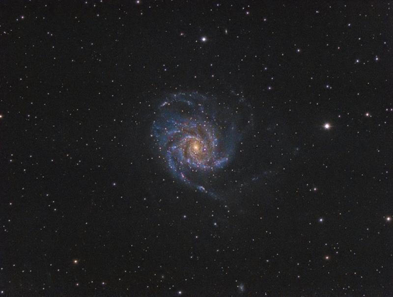 M101 - Галактиката Въртележка | Author Ivan Raichev - sektor | PHOTO FORUM