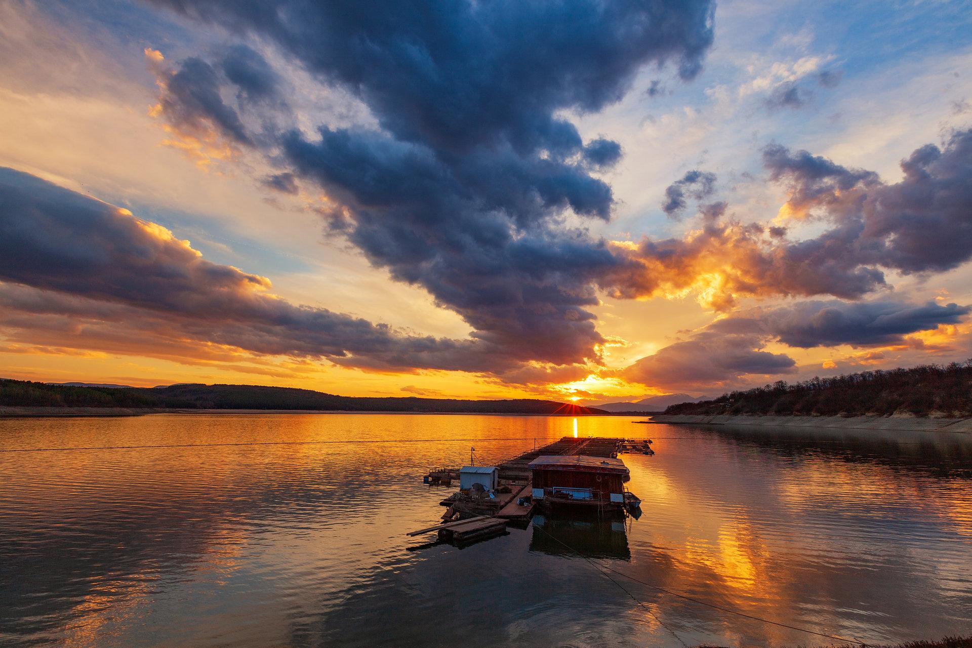 Залез над язовир Копринка | Author Deqn Romanov - didkich | PHOTO FORUM