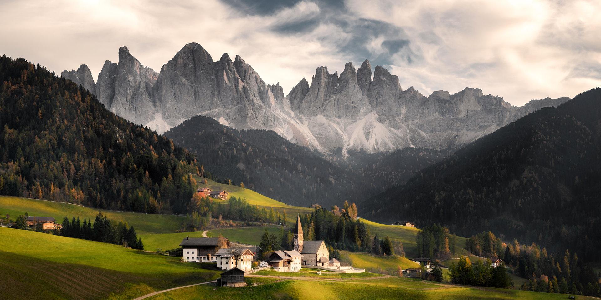 Санта Магдалена - Доломити - Италия | Author nalexiev87 | PHOTO FORUM