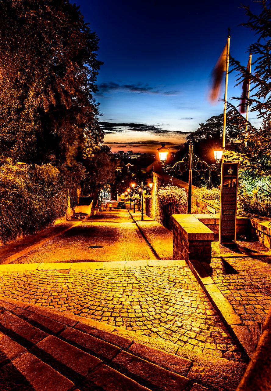 Залез над Пловдив от Plamen Denchev - barabef
