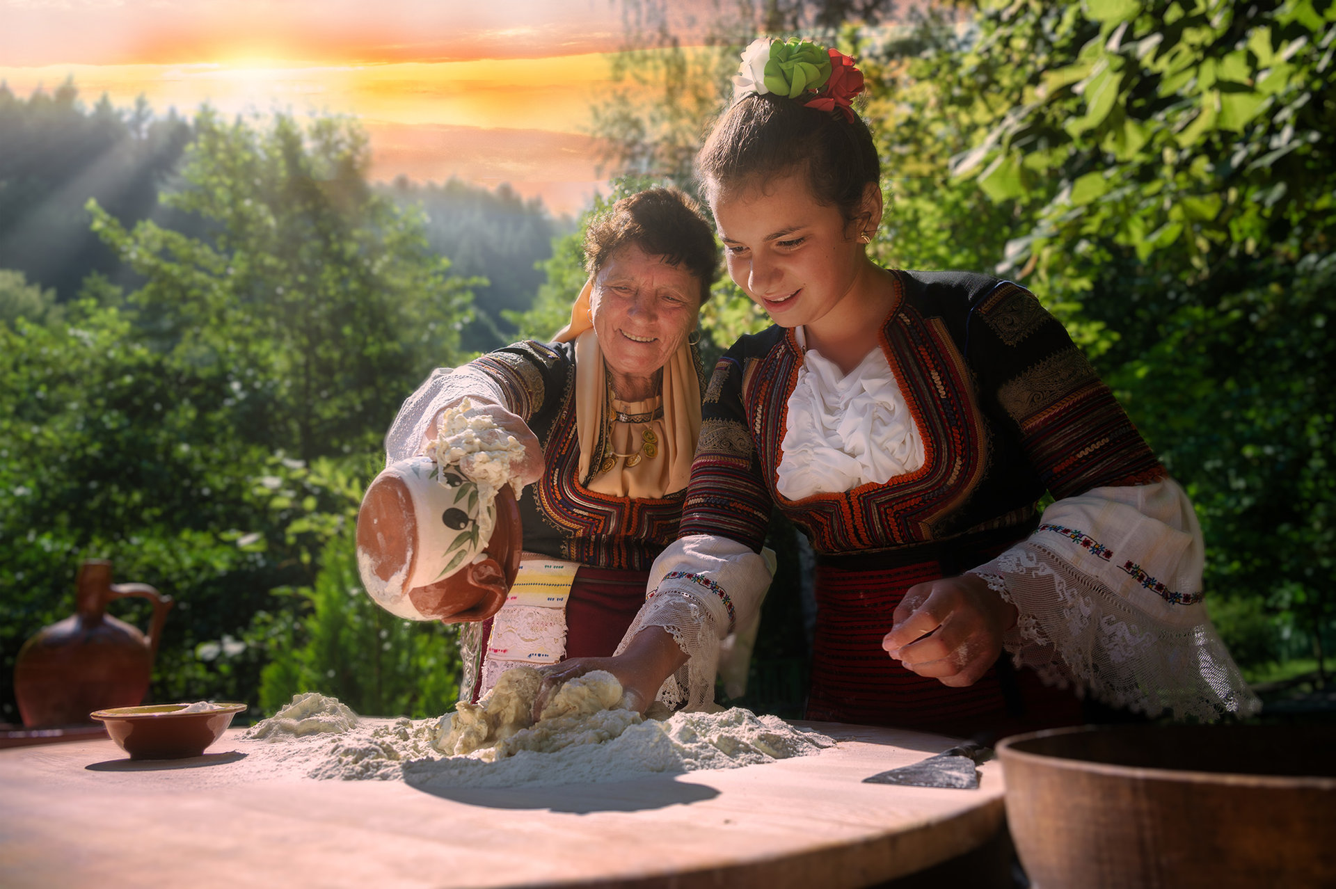 Photo in Bulgarian traditions   Author Владислав Чанев - Vlaizer   PHOTO FORUM