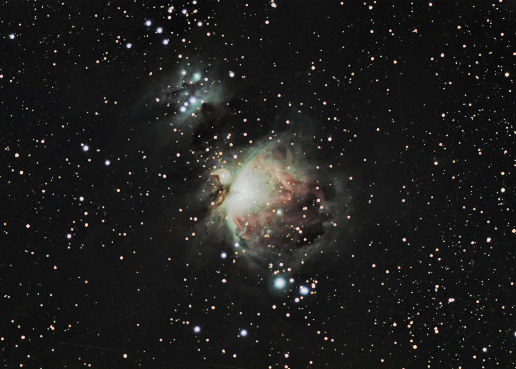 Мъглявината М42 в Орион | Author Tharsis | PHOTO FORUM