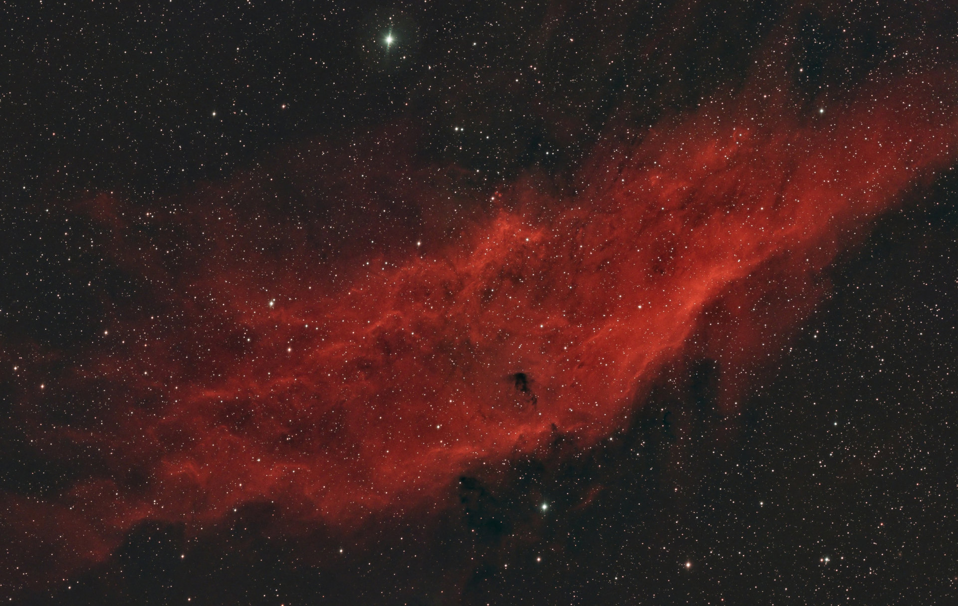 NGC 1499 - Мъглавината Калифорния   Author sektor   PHOTO FORUM