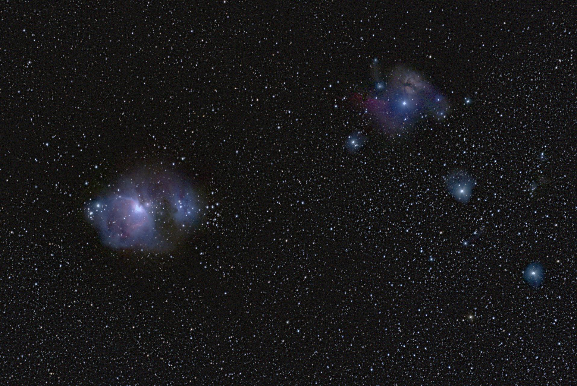 Мъглявината Орион (M42, NGC 1976) от Radoslav Sotirov - RBSotirov