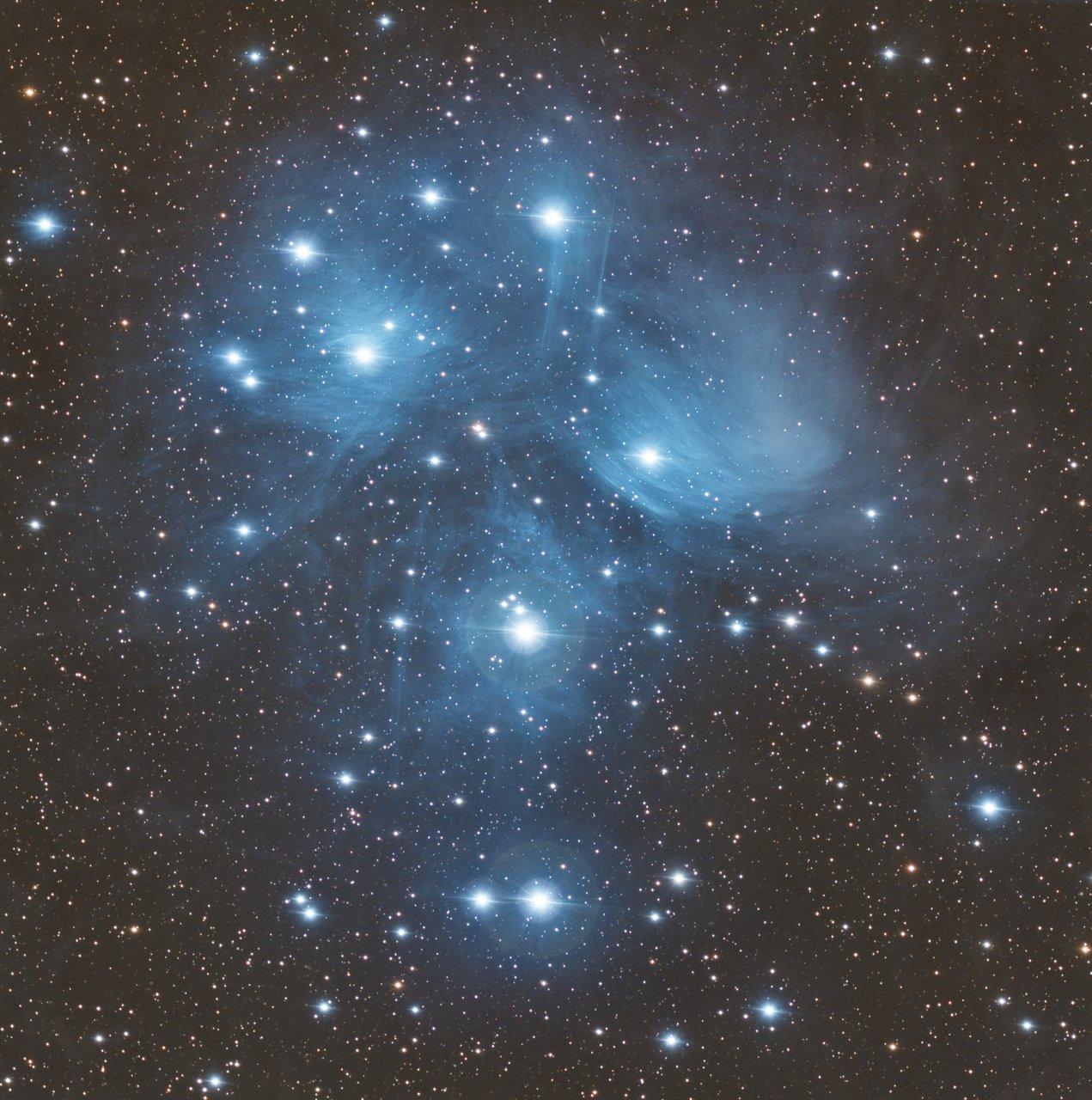 M45 - The Pleiades | Author sektor | PHOTO FORUM