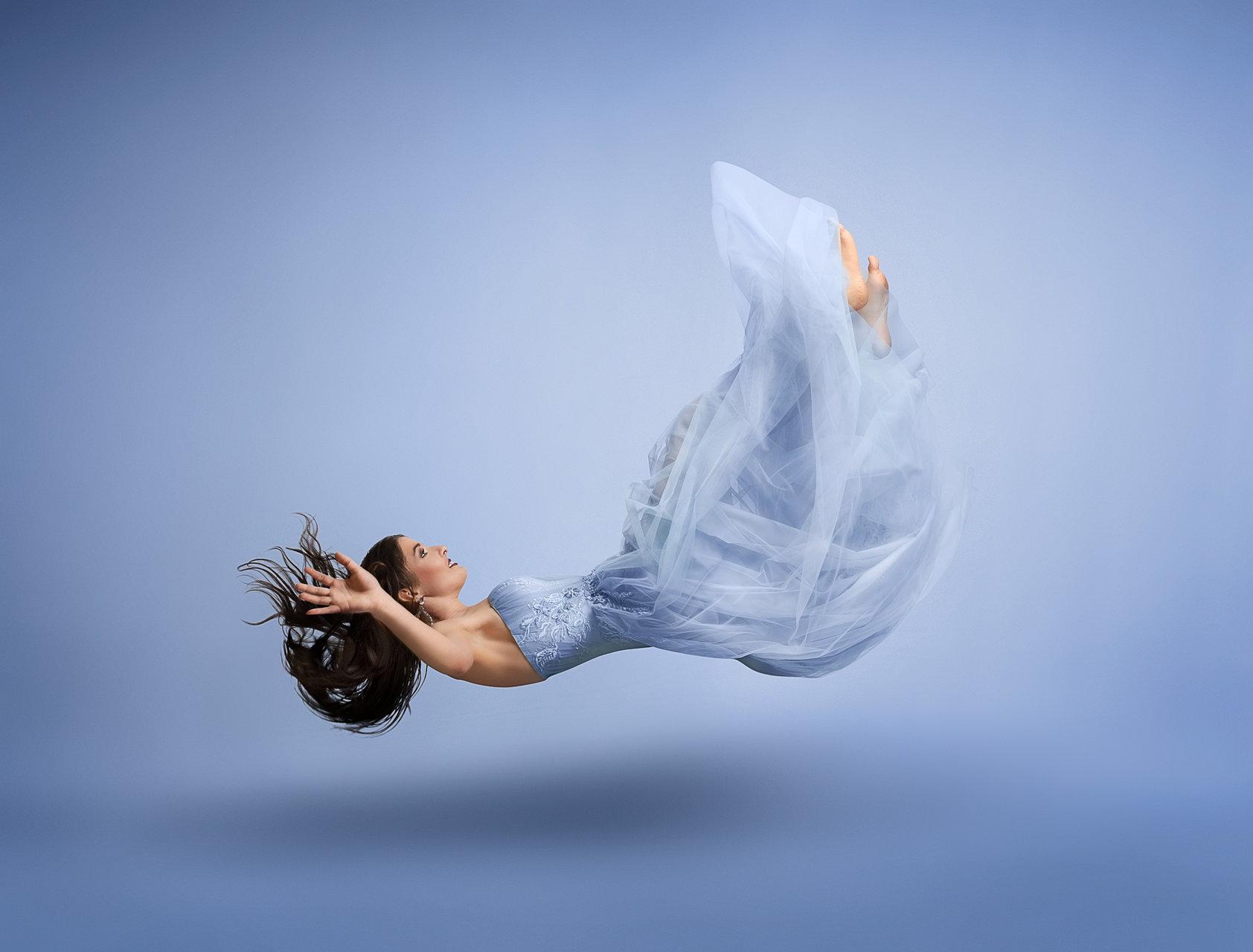 Levitation Experiment with Karina   Author barikn   PHOTO FORUM