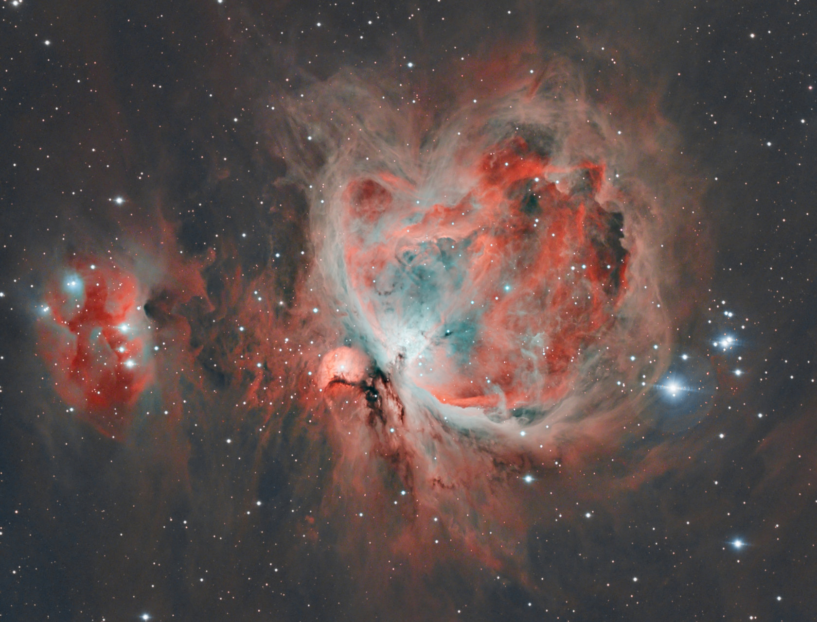 M42 - Великата мъглявина Орион | Author Ivan Raichev - sektor | PHOTO FORUM