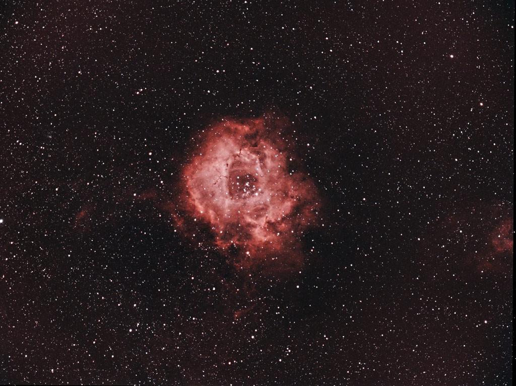 NGC 2237 Rosette Nebula | Author Damyan Ognyanoff - damyan_rm | PHOTO FORUM