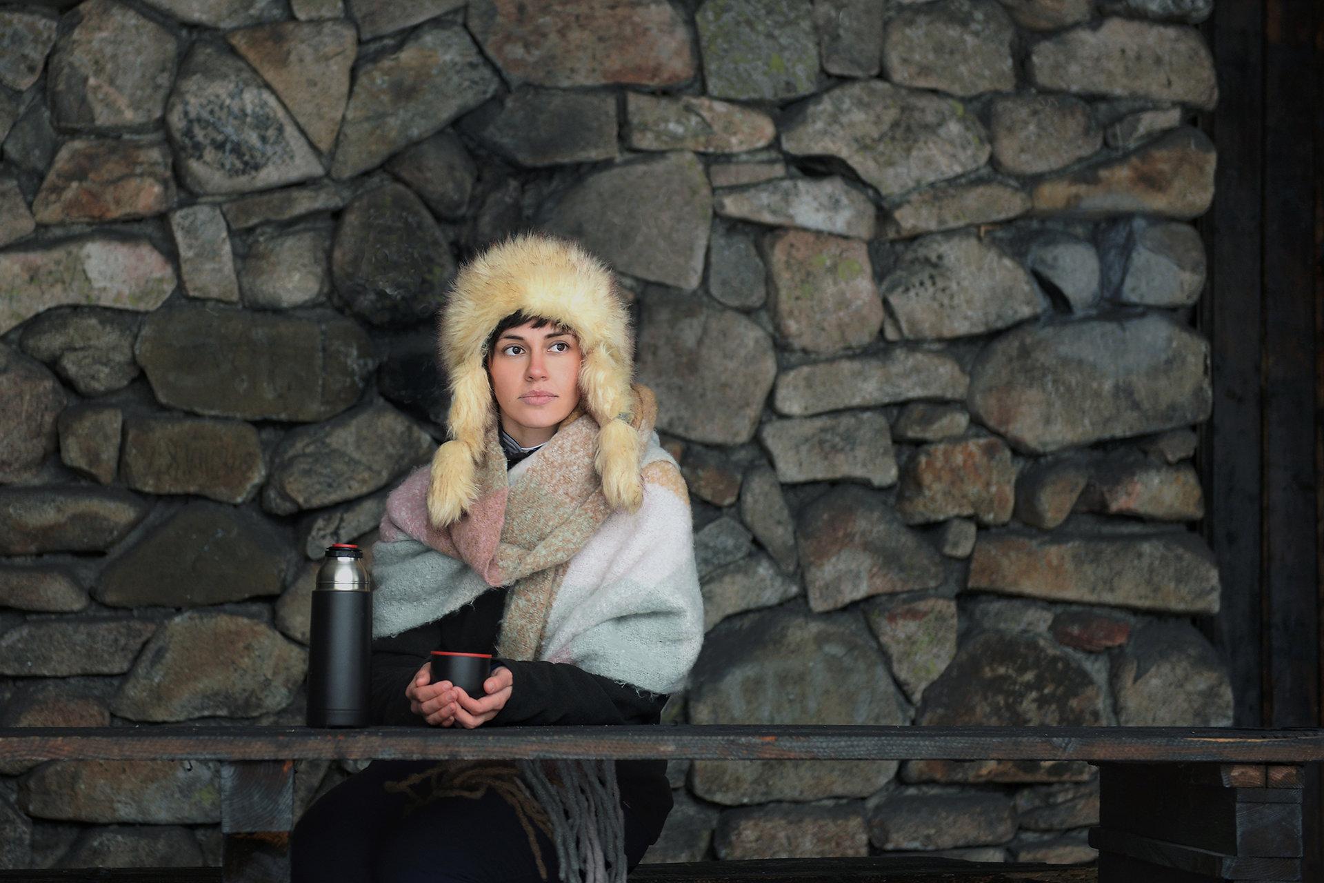 Зимен портрет   Author Anelia Nacheva - Abril   PHOTO FORUM