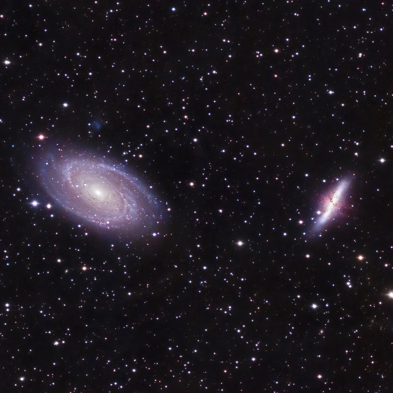 M81 и M81 | Author Ivan Raichev - sektor | PHOTO FORUM
