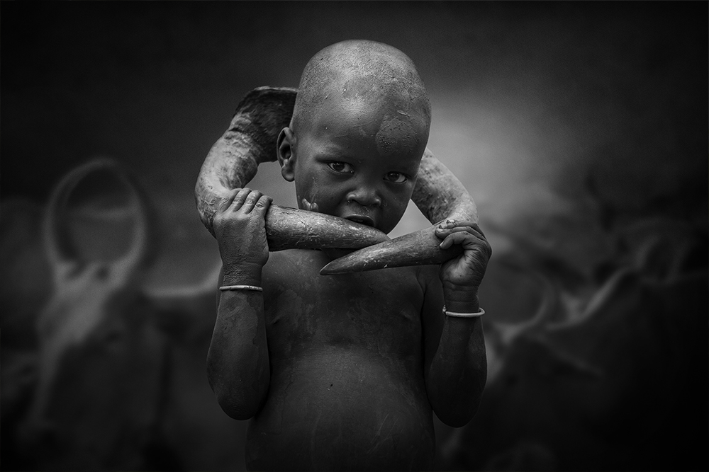 Mursi child | Author Svetlin Yosifov - picsvet | PHOTO FORUM