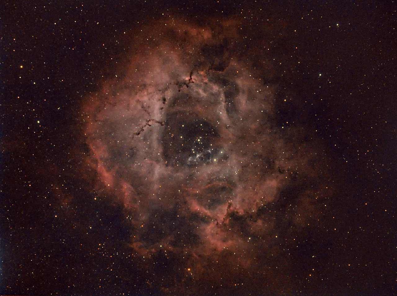 Rosette Nebula, Caldwell 49, SH 2-275 | Author Damyan Ognyanoff - damyan_rm | PHOTO FORUM
