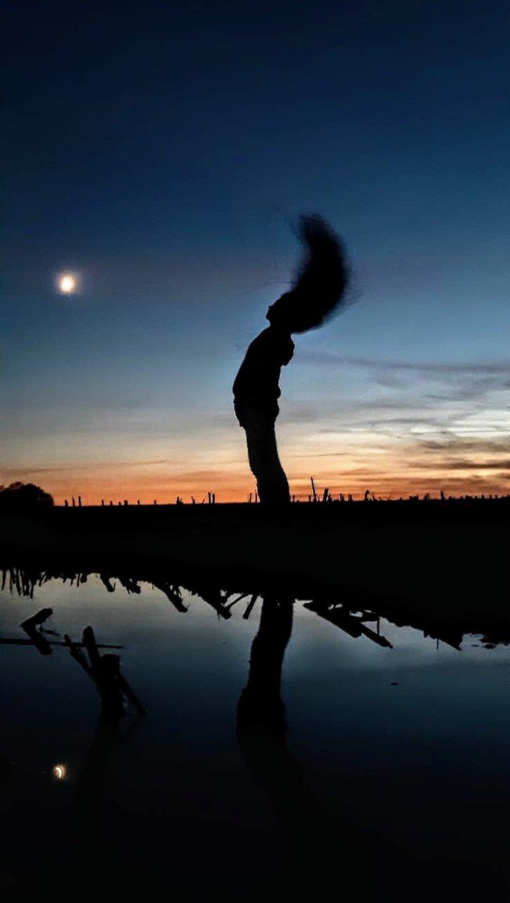 Луна от коса | Author Албена  Минева - AblenaJh | PHOTO FORUM