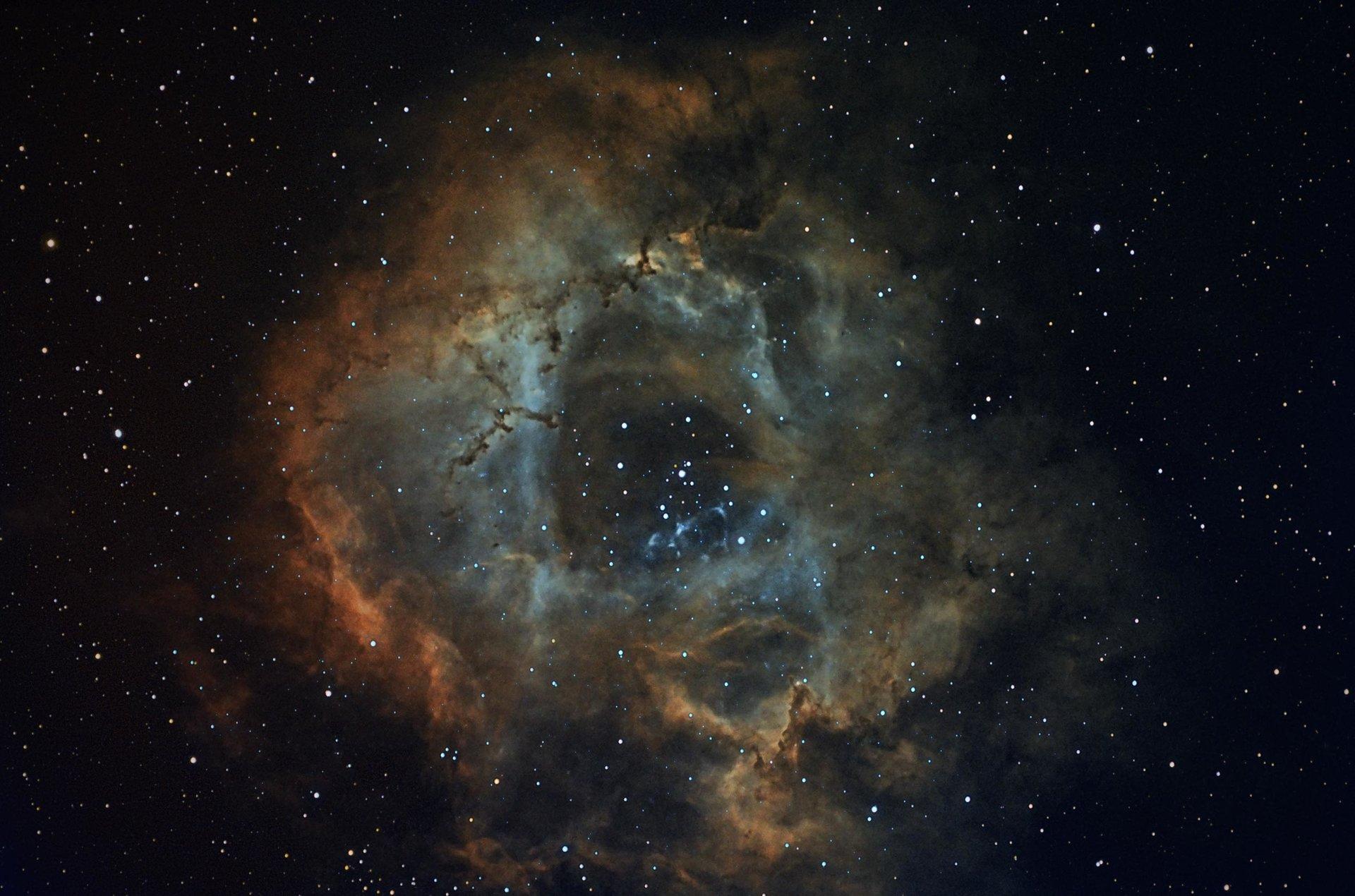 Rosette nebula, Caldwell 49   Author Damyan Ognyanoff - damyan_rm   PHOTO FORUM