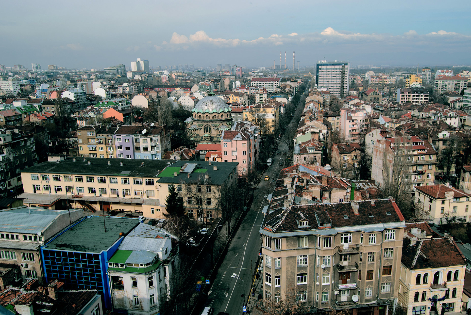 Поглед над Раковска 24.02.2010 | Author Svetoslav Radkov - MauMyHa | PHOTO FORUM