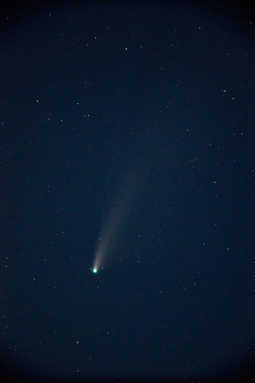 Comet C/2020 F3 NEOWISE | Author Николай Нунев - Tymen | PHOTO FORUM
