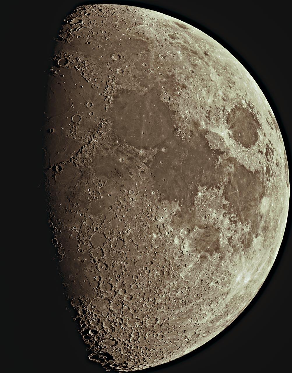 Луната (и кроп на Лунните Апенини)   Author Damyan Ognyanoff - damyan_rm   PHOTO FORUM