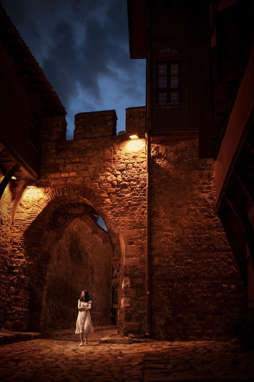 Evening walk in the old Plovdiv | Author Tsanko Darakchiev - The_Moon | PHOTO FORUM