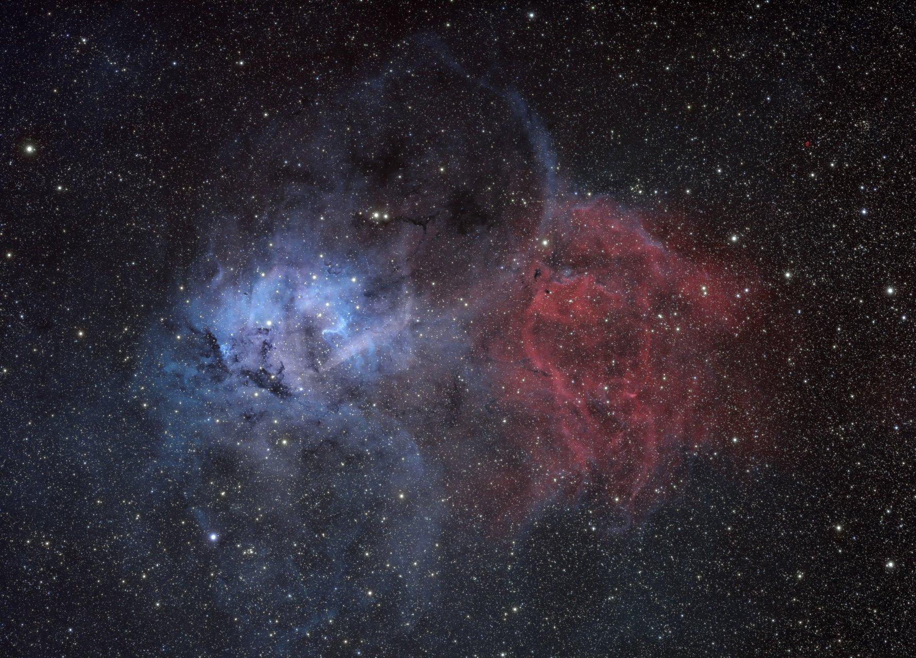 Мъглявината Лъв в съзвездие Цефей   Author Tony Gl - tonygl   PHOTO FORUM
