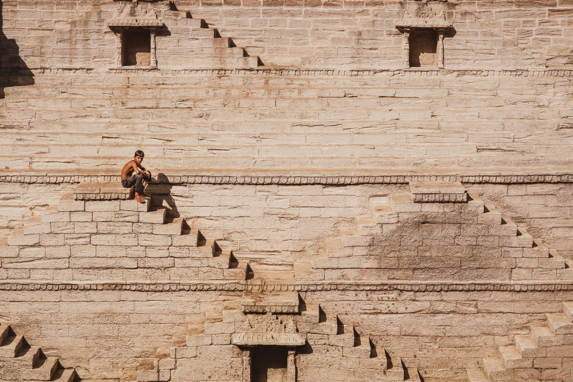 step well in Jaipur, India | Author Emil  - Silenteyes | PHOTO FORUM