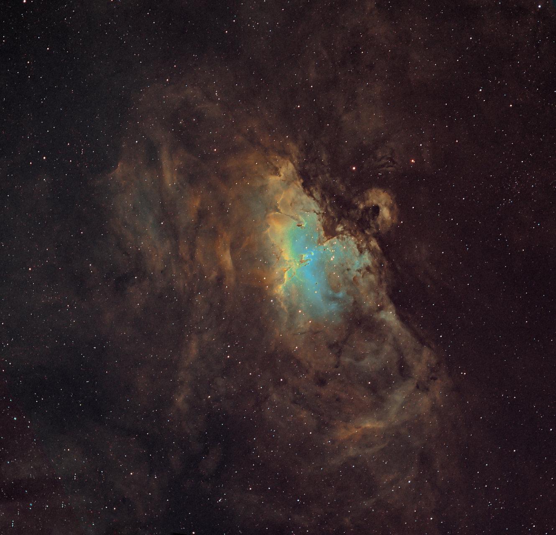 M16 Eagle nebula   Author Damyan Ognyanoff - damyan_rm   PHOTO FORUM
