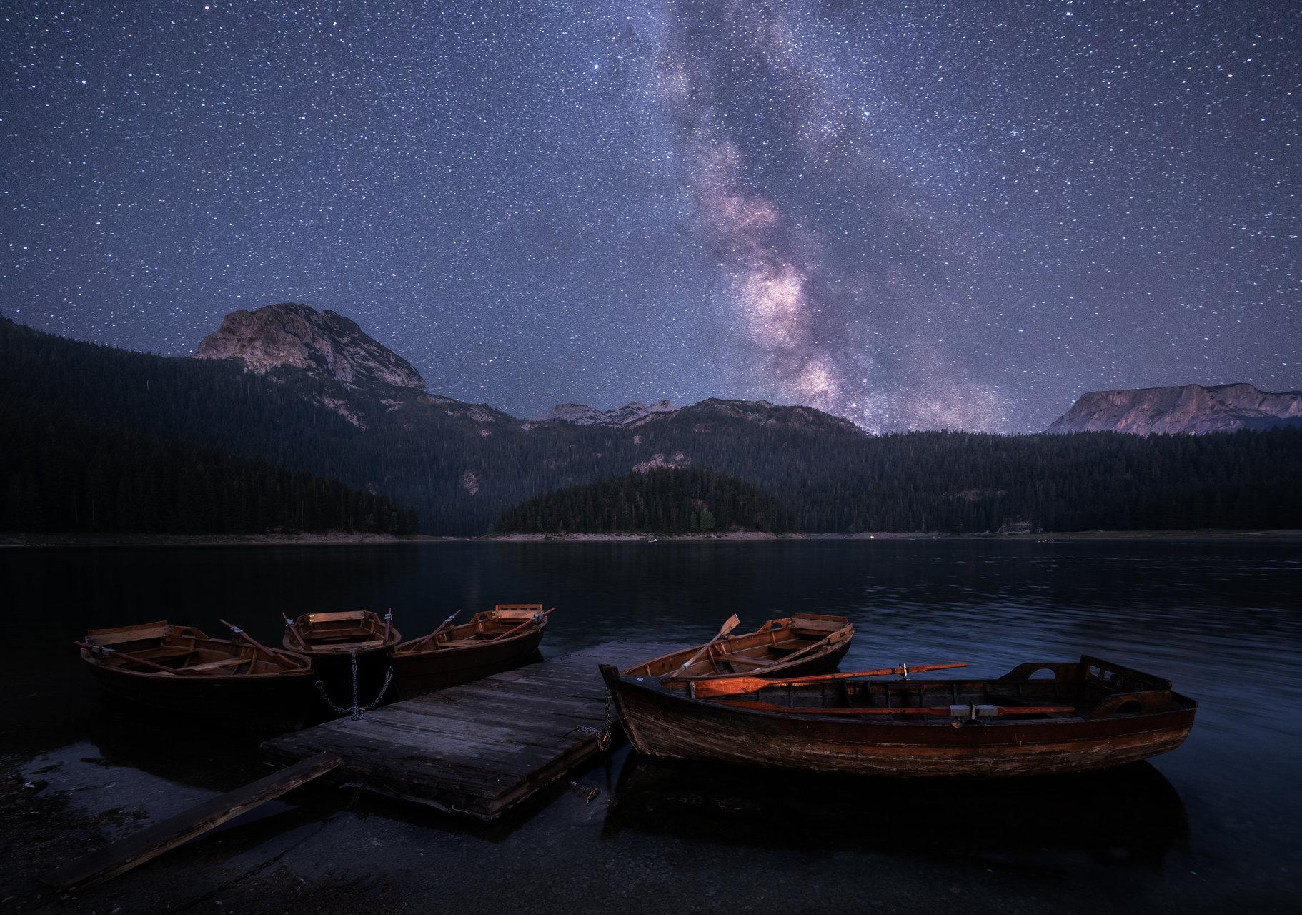 Лодки под звездите   Author Lyubomir Momchilov - Liubendy   PHOTO FORUM