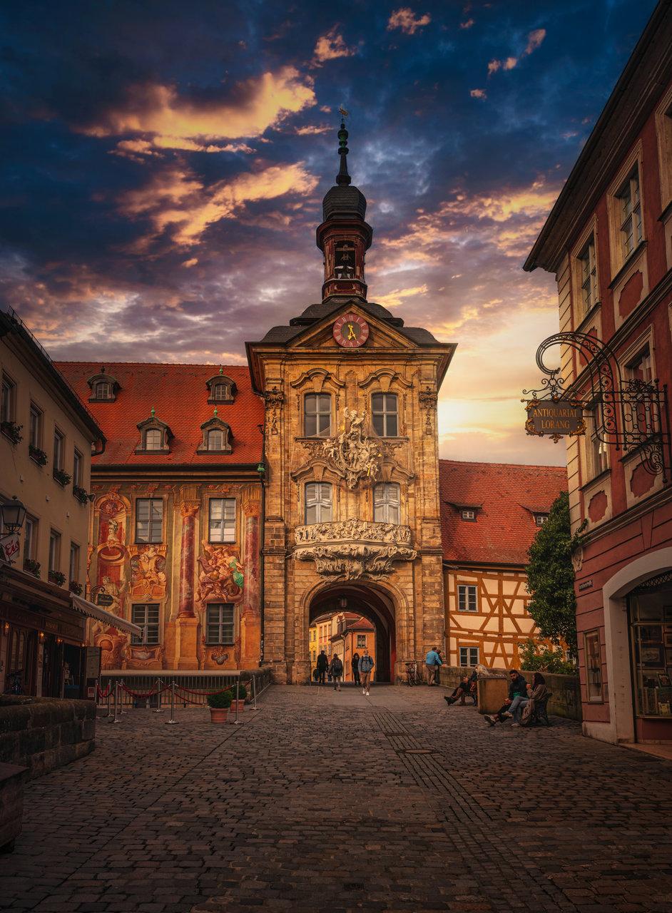 Старото кметство на гр. Бамберг в северна Бавария. | Author Zavaydin Zavaydinov - Zavaydinov_Photography | PHOTO FORUM