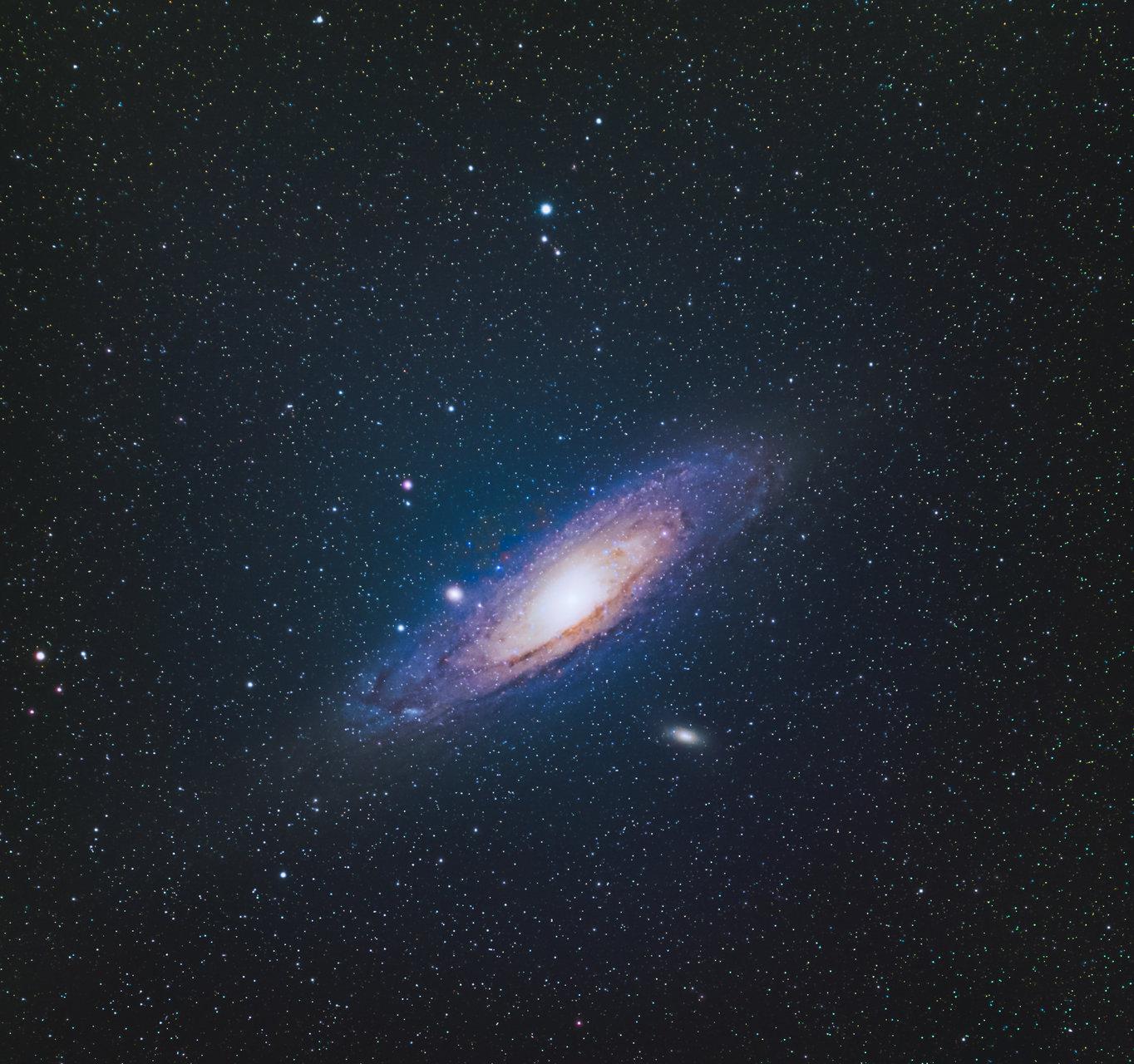 Галактиката Андромеда /М31 | Author Doncho Dimitrov - Fazana1916 | PHOTO FORUM